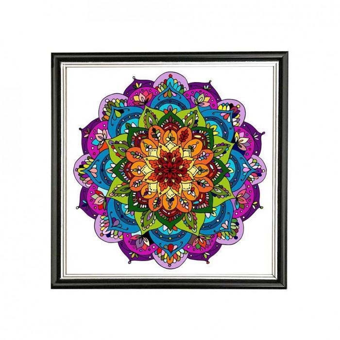Mandala alegría, optimismo y energía positiva